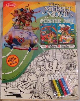 Avalon 1979 muppet movie poster art crafts 1