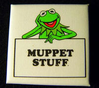 Muppet stuff button