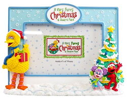 Sesame place frame christmas