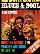 Blues and soul magazine lou rawls 1977 issue 240