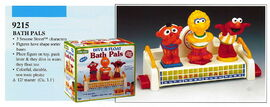 Illco 1992 bath toys dive & float bath pals