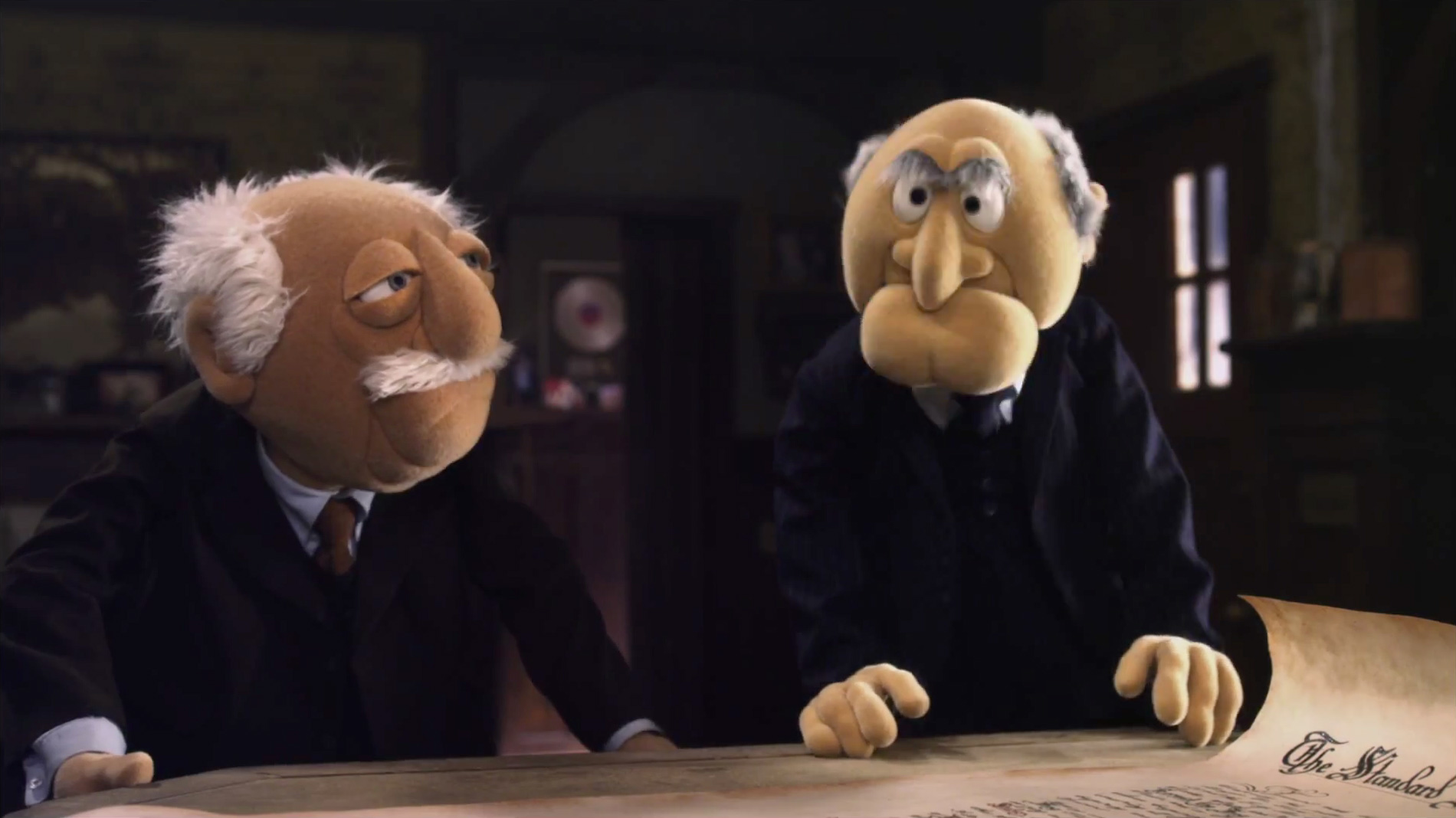 Statler and Waldorf | ESPN Tournament Challenge | The Muppets ...