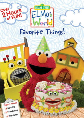 Elmo's world favote things dvd