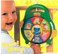 Fisher-price 2001 catalog see 'n say bring-along cookie monster baby