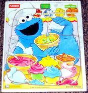 Playskool 1994 cookie monster puzzle