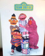 Sesame street live big bird and the abc's program 2