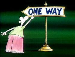 Signman.OneWay