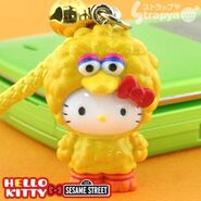 Strapya 2011 mascot hello kitty plastic large big bird japan