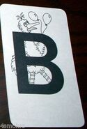 Alphabet cards 04