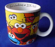 Applause 1998 mug happy faces 2