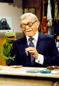 George burns and kermit