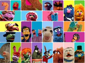 Sesame Muppets Page Updated