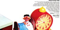 Sesame Street clock radios (Concept 2000)