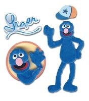Scrapbook-Sticker-Grover