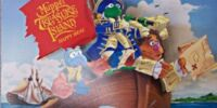 Muppet Treasure Island Happy Meal toys