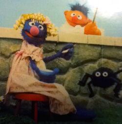 Grover in drag