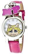 Jc penney miss piggy pink strap charm watch