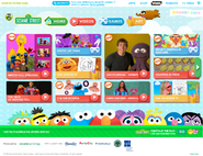 PBSKids.org Sesame page April 2016