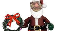 Santa Chef Action Figure