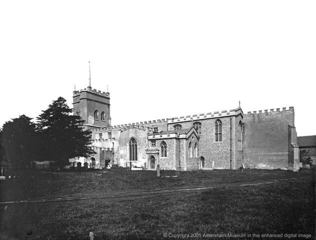 File:1888 - St Mary's Church during restoration (9055).jpg