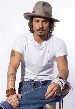 Johnny Depp (in 2006)