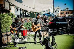 Eyeshine performing live on KTLA Morning News in 2012.