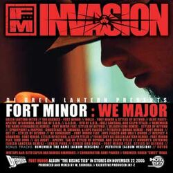 Fort Minor - We Major (Official Cover from DJGreenLantern.Com)
