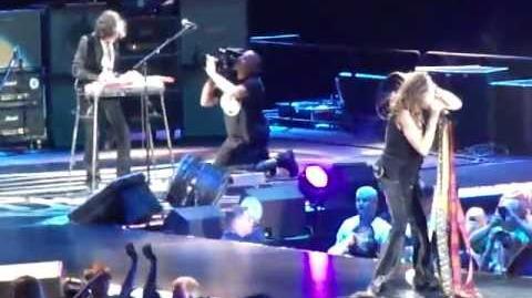 Aerosmith - Cryin' Rag Doll - Global Warming Tour - Minneapolis - 2012