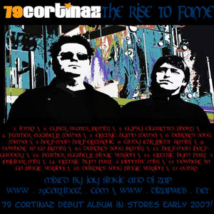 79Cortinaz- The Rise To Fame (Official Mixtape) - Front Cover (Original Version)