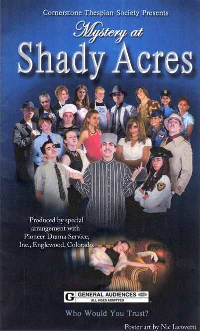 Mystery at Shady Acres Poster