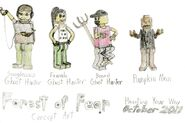 Forest of Fear Characters 1