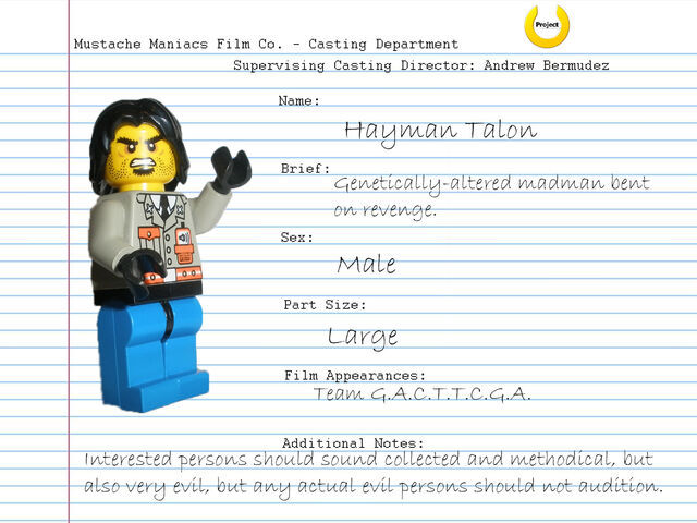 File:Audition Sheet - Hayman Talon.jpg
