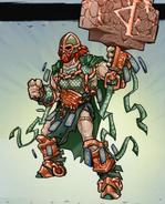 Bronze thor