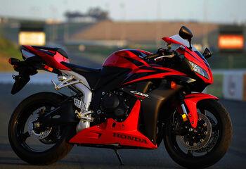 08 supersport Honda CBR600RR 1