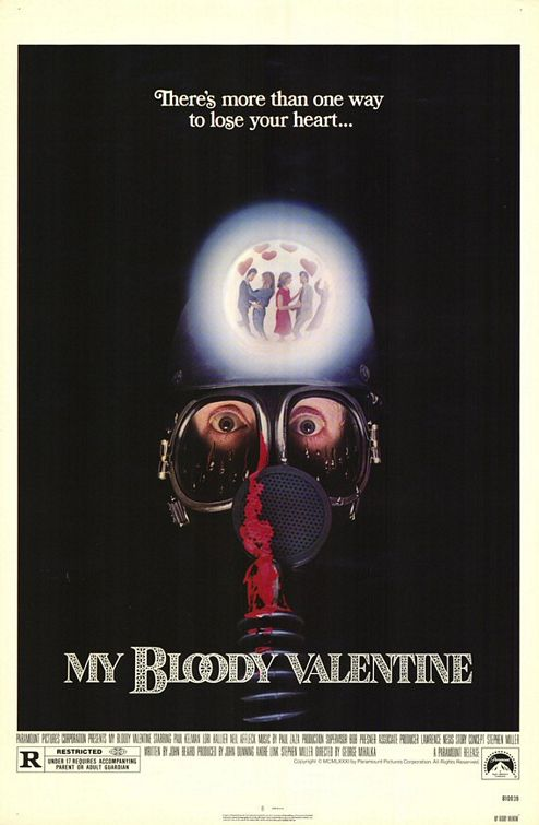 Image result for my bloody valentine 1981 poster