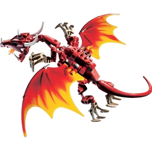 printable instructions on how to make a fire breathing dragon