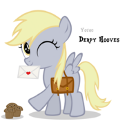 Derpy hooves filly by blackm3sh-d3dfitk