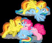 RainbowFirePie shipping artist brianblackberry