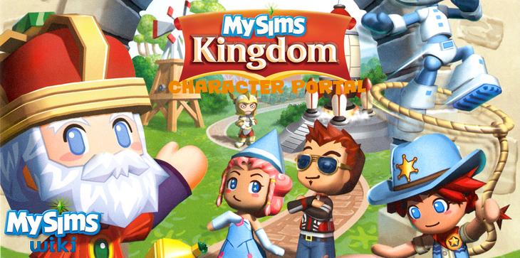 MySims Kingdom Portal Banner