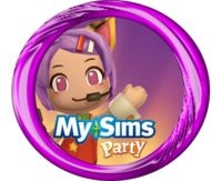 MySims Party MC Emi Button