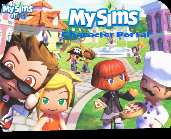 MySims Character Portal Banner