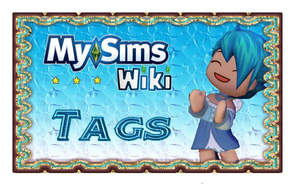 MySims Wiki Tags Banner