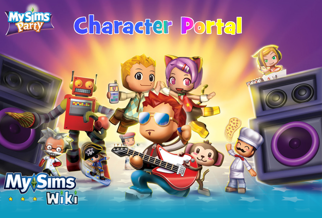 MySims Party Character Portal