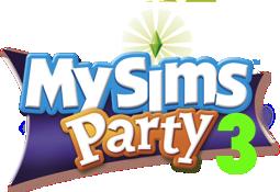 MySims Party 3 Logo