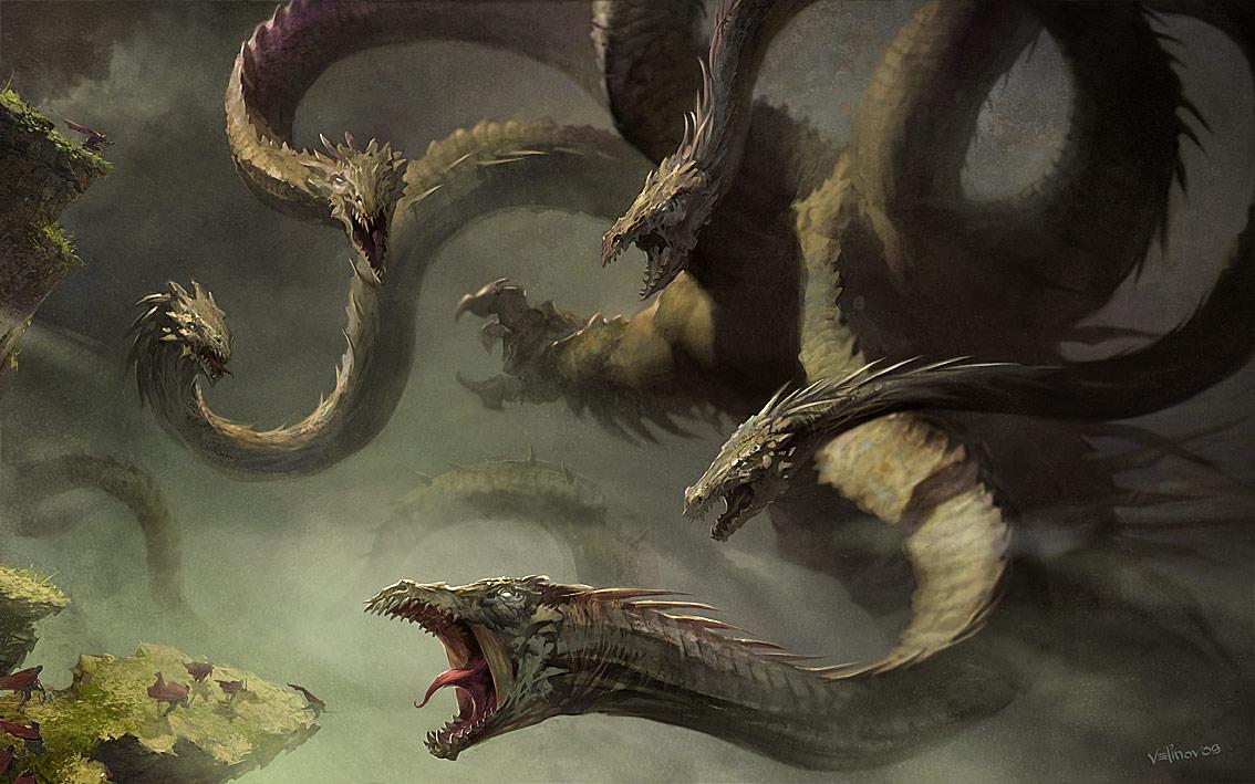 Lernaean Hydra - Mythology Wiki - Wikia