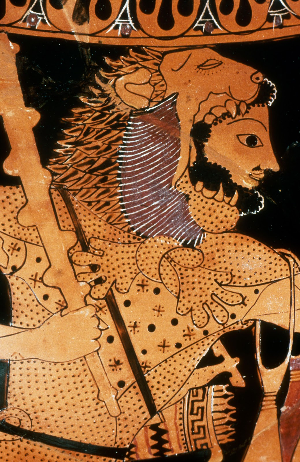 File:Heracles wearing the Nemean Lion's hide.jpg