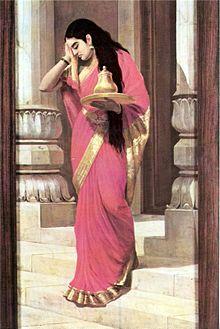 File:220px-Raja Ravi Varma, Pleasing.jpg