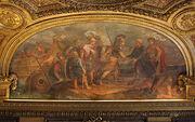 400px-Château de Versailles, salon de Diane, Jason et les Argonautes débarquant en Colchide, Charles de La Fosse