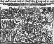 Broadside of Werewolves from Jülich, Germany. Georg Kress, 1591.