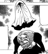 Cloak Figure standing behind Vivian